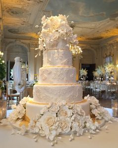 Custom Wedding Cake Newport RI Rosecliff Mansion
