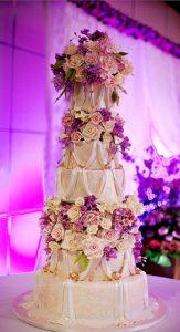 tall wedding cake-expensive wedding cake-New York wedding cake
