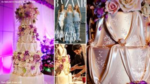 stunning wedding cake-nyc wedding cake