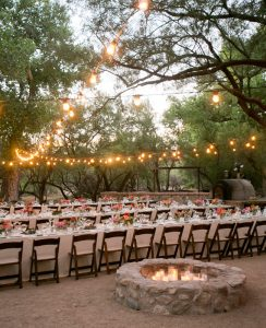 Tanque Verde Ranch desert wedding