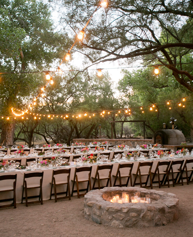 Tanque Verde Ranch desert wedding