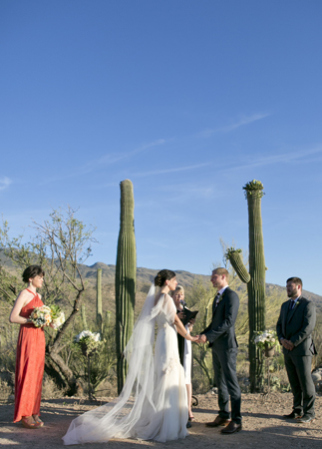 Mel Barlow & Co Arizona desert wedding