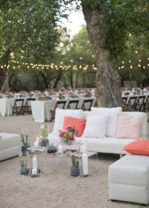 Tanque Verde Ranch desert lounge