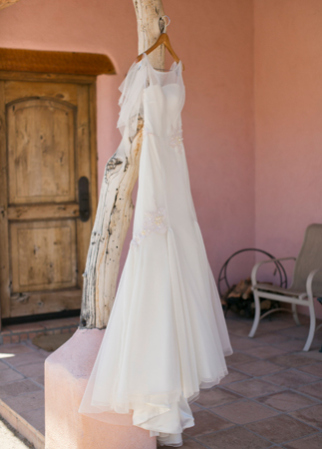 Custom Melissa Sweet Wedding Dress