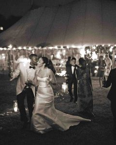 Martha Stewart Weddings Ana Parzych Custom Wedding Cakes Featured Cake Ceremony Image