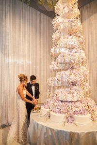 red rock resort celebrity fertitta wedding cake