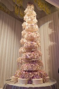 tallest wedding cake-mindy weiss-revelry events