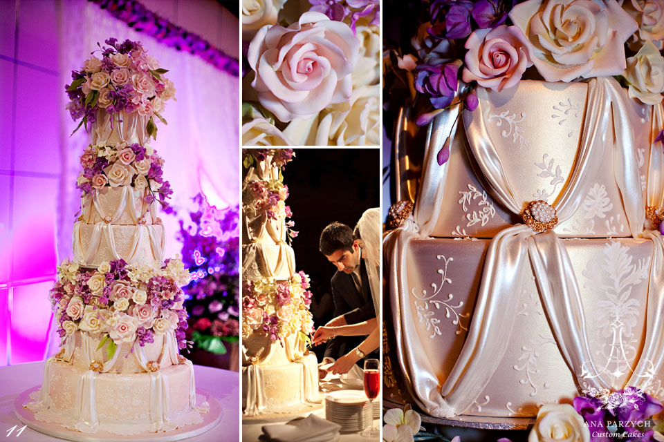 luxury wedding cake-Dubai wedding-royal wedding