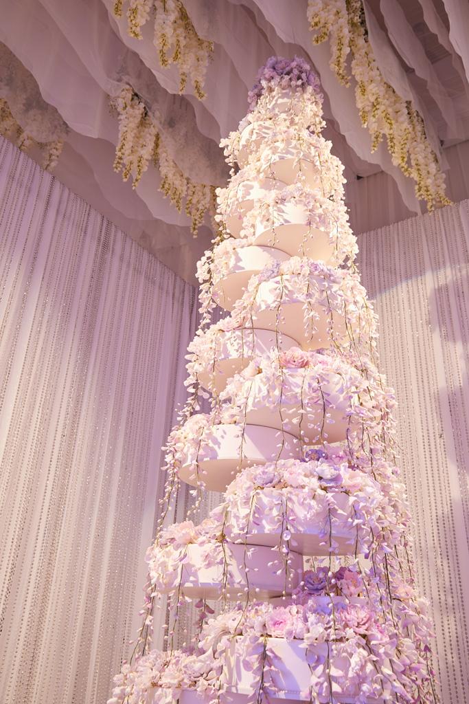 Las Vegas Fertitta wedding cake