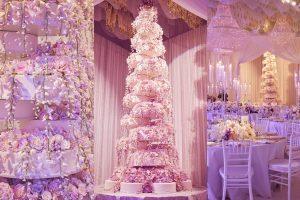 extravagent wedding cake-mindy weiss-tall wedding cake