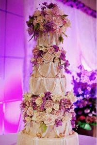 dubai wedding cake-elegant wedding cake-royal wedding