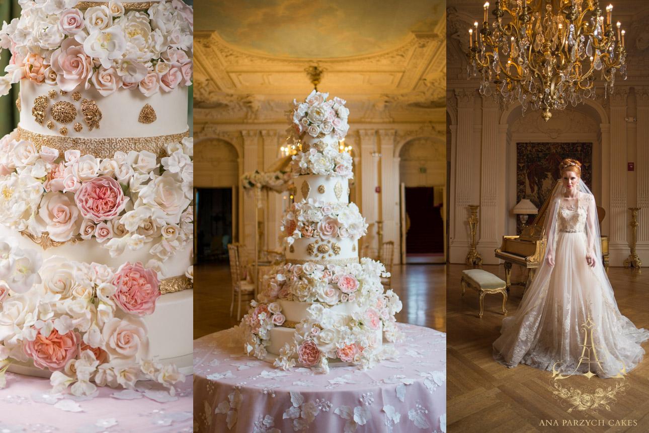 Cool Ana Parzych Cakes Luxurious Wedding Cakes Creating Custom Funny Birthday Cards Online Bapapcheapnameinfo