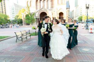Boston Summer wedding