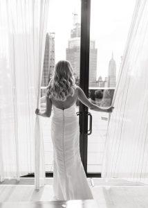 Amy Kuschel wedding gown