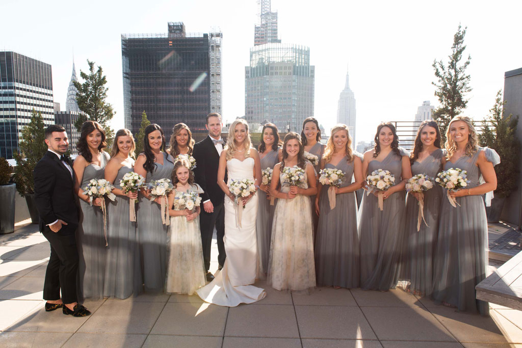 Cipriani wedding party