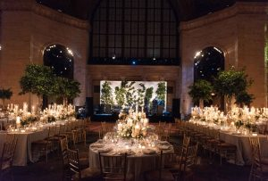 Cipriani New York wedding reception