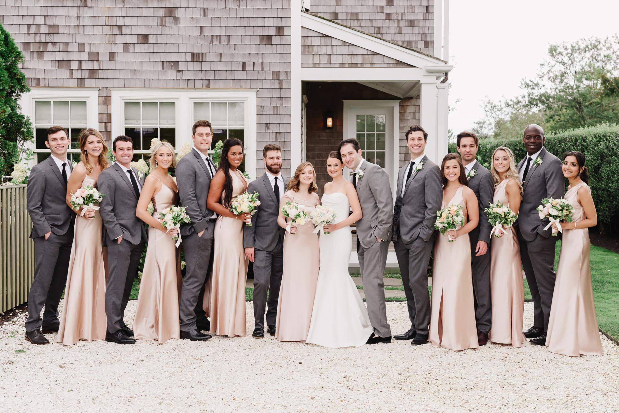 Galley Beach wedding party