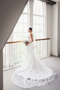 Nantucket Vera Wang wedding dress