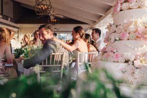 Galley Beach wedding reception