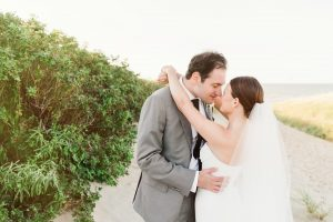 Galley Beach outdoor wedding