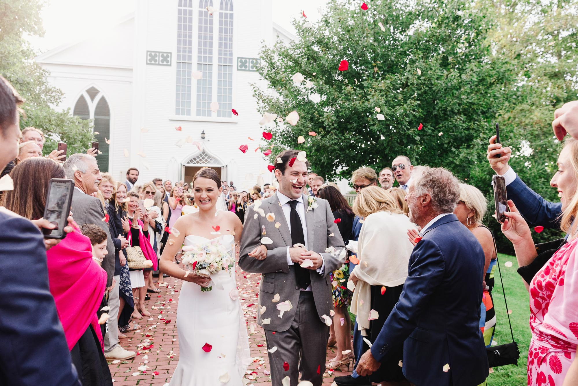 First Congregational Church Nantucket wedding