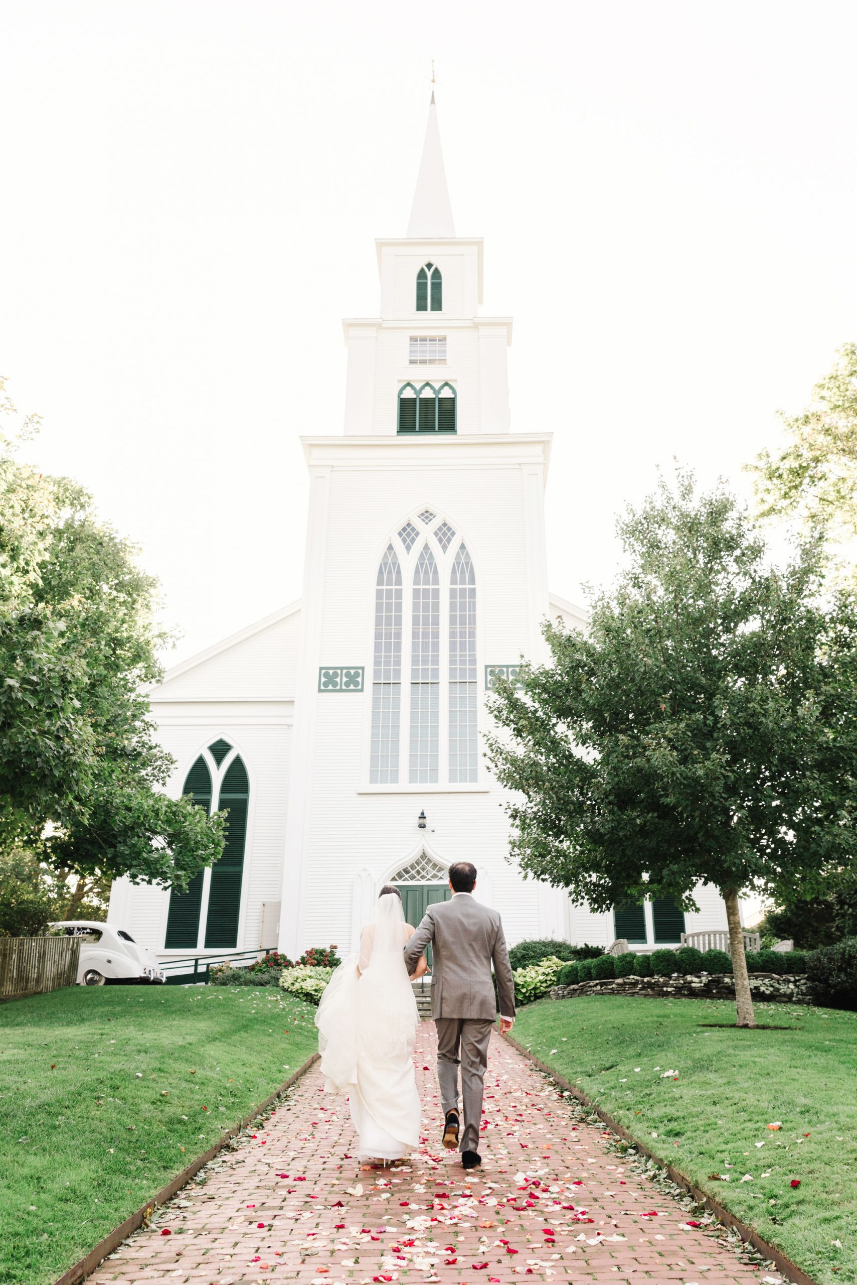 First Congregational Church of Nantucket Wedding