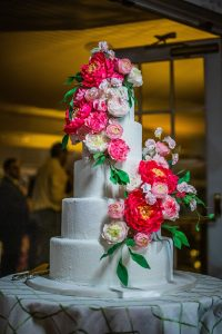 Connecticut wedding cake