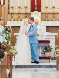 John Catholic Church wedding