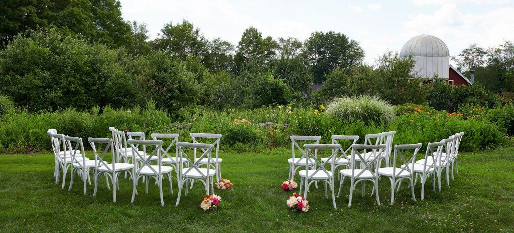Winvian farm outdoor wedding
