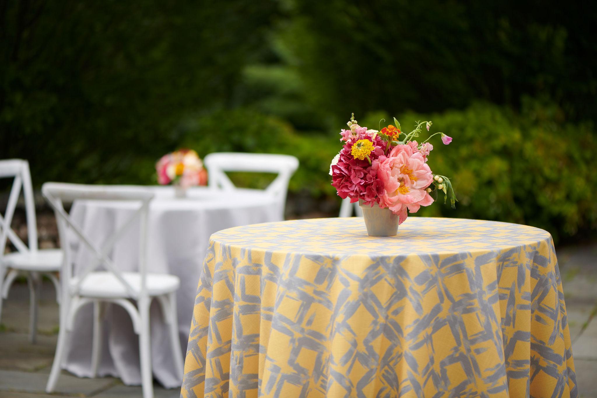 Summer outdoor wedding
