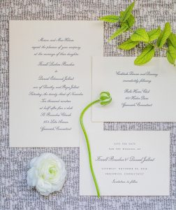 Save the date wedding inspiration