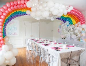 Balloon Design Studio unicorn party